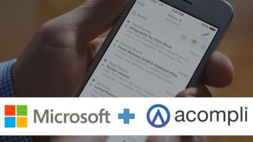Microsoft buys acompli