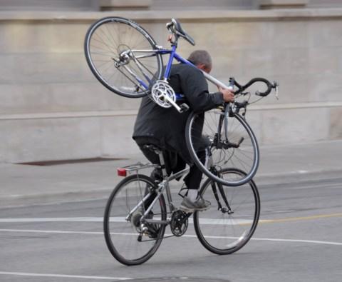 keep bike secure