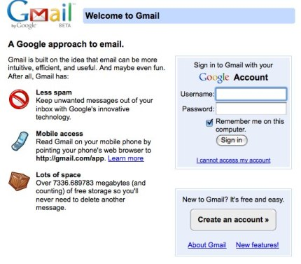 setup gmail account